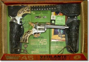 Mattel-vigilante-double-holster-toy-capgun-set