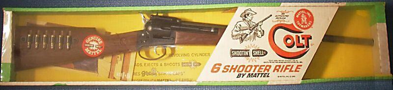 mattel colt rifle